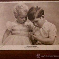 Postales: POSTAL PRINCIPES CARLOS Y ANA-THEIR ROYAL HIGHNESSES-PRINCE CHARLES & PRINCESS ANNE. Lote 31594892