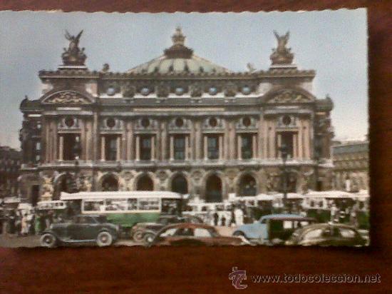 POSTAL PARIS L'OPÉRA PARIS ....EN FLANANT YVON (Postales - Postales Extranjero - Europa)