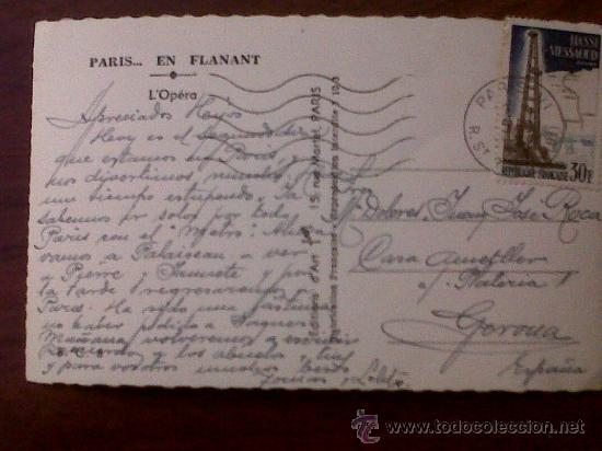 Postales: POSTAL PARIS L'OPÉRA PARIS ....EN FLANANT YVON - Foto 2 - 31595440