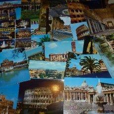 Postales: LOTE DE 50 POSTALES - ROMA. Lote 31657941
