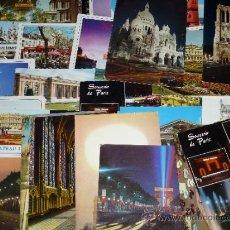 Postales: LOTE DE 50 POSTALES - PARIS. Lote 31657964