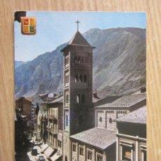 Postales: POSTAL DE VALLS DE ANDORRA CIRCULADA . Lote 31688774