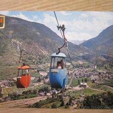 Postales: POSTAL DE VALLS DE ANDORRA CON MANCHAS DE HUMEDAD. Lote 31688787