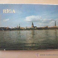 Postales: RIGA LETONIA, 18 POSTCARDS. Lote 31716504