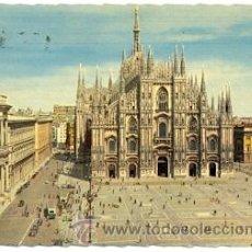 Postales: 7-ITA184. POSTAL ITALIA. MILANO. PIAZZA DEL DUOMO. Lote 31778767