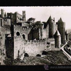 Postales: POSTAL DE FRANCIA - CARCASSONNE - LES REMPARTS - PORTE DE L'AUDE . Lote 31864997