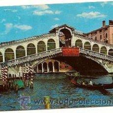 Postales: POSTAL VENEZIA PONTE DI RIALTO.. Lote 31893579