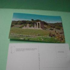 Postales: LOTE DE 2 POSTALES CERDEÑA TEMPIO PUNICO-ROMANO DI ANTAS. FLUMINIMAGGIORE. ITALIA. Lote 32015540