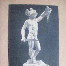 Postales: FIRENZE LOGGIA DEI CANZI - IL PERSEO CON LA TESTA DI MEDUSA - 1918 CELLINI. Lote 32206722