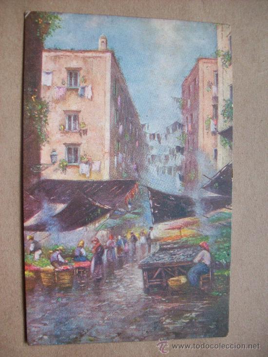 NAPOLI EX BASSO PORTO 1919 N° 2844 - 23 (Postales - Postales Extranjero - Europa)