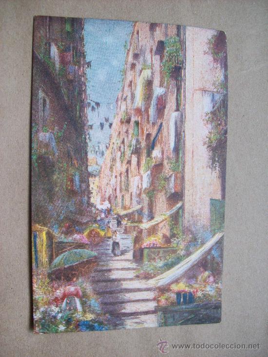 NAPOLI PALLONETTO A S. LUCIA N° 2844 - 28 (Postales - Postales Extranjero - Europa)