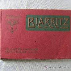 Postales: BIARRITZ - 24 CARTES POSTALES DETACHABLES - MARQUE LL - PRINCIPIOS S.XX. Lote 32303613