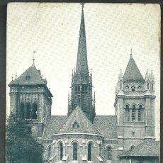 Postales: GENEVE TOURS DE LA CATHEDRALE ST PIERRE. Lote 32415294