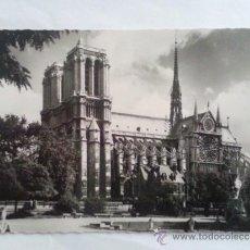 Postales: TARJETA POSTAL PARIS, NOTRE DAME, VISTA GENERAL. Lote 32453822