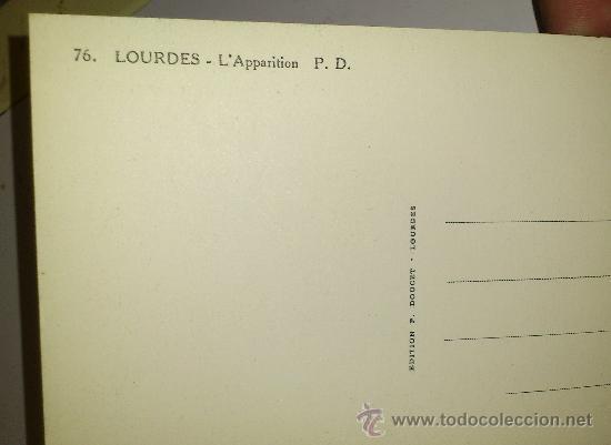Postales: 10 POSTALES MONASTERIO O GRUTA DE LA VIRGEN DE LOURDES en heliograbado de lujo - Foto 19 - 32649003