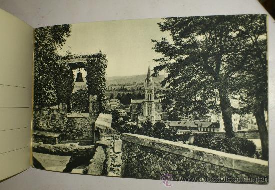 Postales: 10 POSTALES MONASTERIO O GRUTA DE LA VIRGEN DE LOURDES en heliograbado de lujo - Foto 20 - 32649003