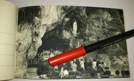 Postales: 10 POSTALES MONASTERIO O GRUTA DE LA VIRGEN DE LOURDES en heliograbado de lujo - Foto 11 - 32649003