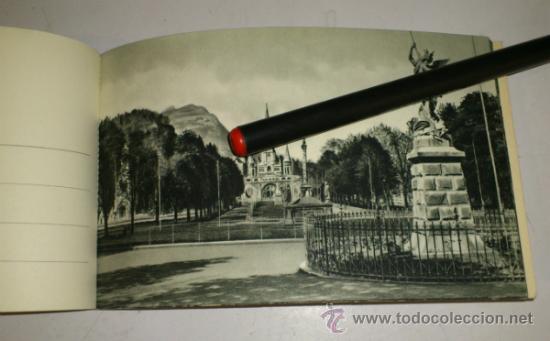 Postales: 10 POSTALES MONASTERIO O GRUTA DE LA VIRGEN DE LOURDES en heliograbado de lujo - Foto 9 - 32649003