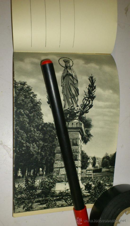 Postales: 10 POSTALES MONASTERIO O GRUTA DE LA VIRGEN DE LOURDES en heliograbado de lujo - Foto 5 - 32649003