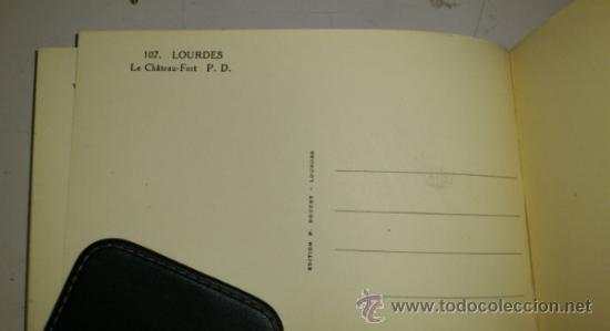 Postales: 10 POSTALES MONASTERIO O GRUTA DE LA VIRGEN DE LOURDES en heliograbado de lujo - Foto 2 - 32649003