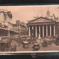 Postales: TARJETA POSTAL DE LONDON. LONDRES. ROYAL EXCHANGE AND BANK. . Lote 32867379