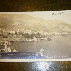 Postales: POSTAL DE **MONTE CARLO (MONACO) ** AÑO 1923. VISTA PRINCIPADO. Lote 32958502