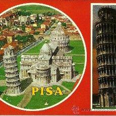 Postales: PISA - SALUTI DI PISA - ESCRITA - 1974. Lote 33209105