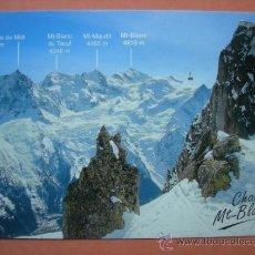 Postales: CHAMONIX MONT BLANC. Lote 33254416