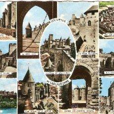 Postales: CARCASSONNE (AUDE), VISTAS DE CARCASSONNE - ED. GREFF - ESCRITA. Lote 33313596
