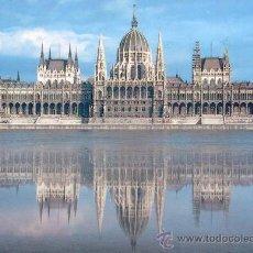 Postales: BUDAPEST PARLAMENTO POSTAL CIRCULADA. Lote 33348566