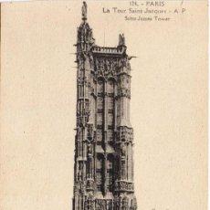 Cartes Postales: POSTAL PARÍS - LA TOUR SAINT JACQUES. Lote 33385812