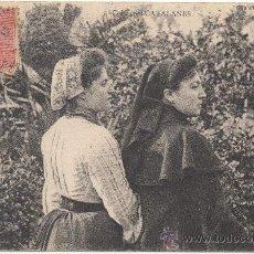 Postales: COIFFURES CATALANES. (C.1905).- FAU ET CAMPISTRO ÉDITEURS.. Lote 33372901