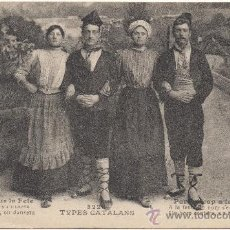 Postales: TYPES CATALANS. Lote 33373710