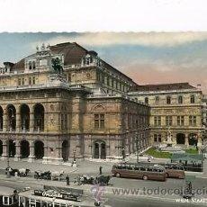 Postales: ANTIGUA FOTO POSTAL ILUMINADA DE AUSTRIA. WIEN 1961. Lote 33389973