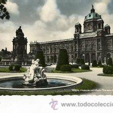 Postales: ANTIGUA FOTO POSTAL ILUMINADA DE AUSTRIA. WIEN 1961. Lote 33389993