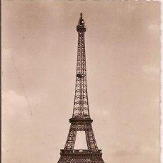 Postales: ANTIGUA POSTAL 7001 PARIS ET SES MERVEILLES LA TOUR EIFFEL VUE DU PALAIS DE CHAILLOT ESCRITA. Lote 33453024
