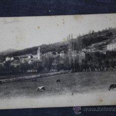 Postales: POSTAL DE LES ESCALDES, FECHADA 1929 . Lote 33477463