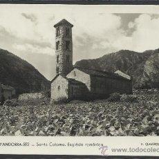 Postales: ANDORRA - 582 - SANTA COLOMA . ESGLESIA ROMANICA - (11.255). Lote 33718838