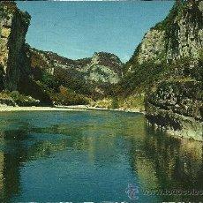Postales - GORGES DE L'ARDECHE - Les Gorges au Rocher de l'Aiguille - 1972 - CIRCULADA - 33723202