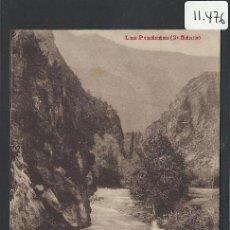 Postales: ANDORRA - 1050 - GORGES DU GRAN VALIRA - LABOUCHE - (11.476). Lote 33907200