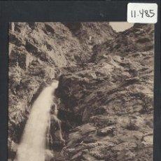 Postales: ANDORRA - 1009- PASSERELLE ET CASCADE DE MOLES.- LABOUCHE - (11.485). Lote 33908113