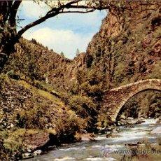 Cartoline: ANDORRA - LA MASSANA - POSTAL PONT ROMÀNIC DE SANT ANTONI. Lote 33958314