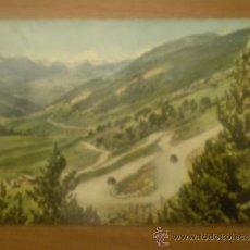 Postales: POSTAL VALLS D`ANDORRA VALLE D`ENVALIRA VISTA GENERAL CIRCULADA. Lote 34019820