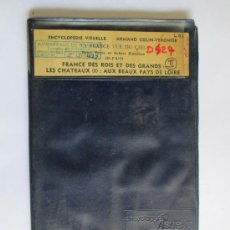 Postales: ENCYCLOPÉDIE VISUELLE, FRANCE DES ROIS ET DES GRANDS: LES CHATEAUX (I): AUS BEAUX PAYS DE LOIRE. ARM. Lote 34072892