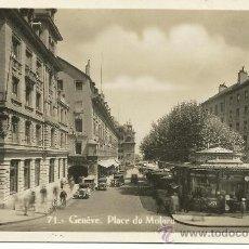 Postales: GENÈVE.-GINEBRA.-PLACE DU MOLARD. Lote 34103624