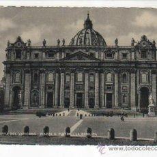 Postales: POSTAL DEL VATICANO (1950) DIRIGIDA AL BAR JOAQUÍN ( ALCALÁ DE GUADAIRA ) A JOAQUÍN JIMÉNEZ POSTIGO. Lote 34213575