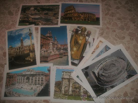 20 POSTALES DE ROMA SIN USAR (Postales - Postales Extranjero - Europa)