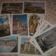Postales: 20 POSTALES DE ROMA SIN USAR. Lote 34475331