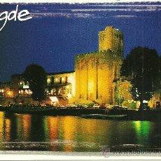 Postales: AGDE - EDITIONS DE LA PALETTE - CIRCULADA - 1999. Lote 34621924