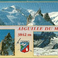 Postales: CHAMONIX MONT-BLANC - L'AIGUILLE DU MIDI - CIRCULADA - 1996. Lote 34671405